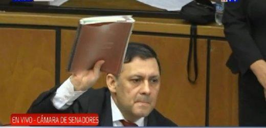 Víctor Bogado ya no es senador