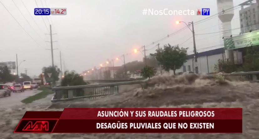 Denuncian nula ejecución de fondos para desagüe pluvial