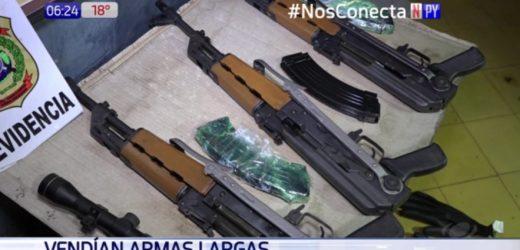 Vendían armas a criminales del Norte desde Lambaré