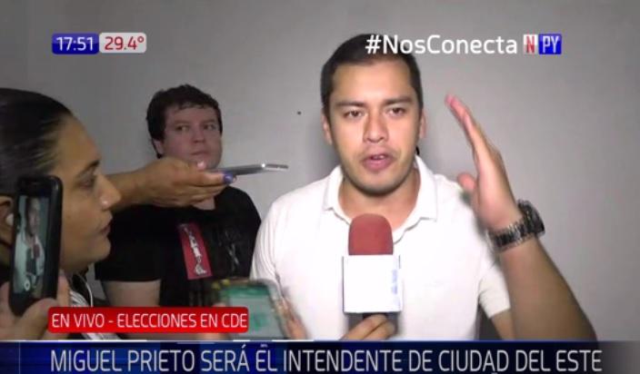 """""""Hoy damos fin a la corrupción en Ciudad del Este"""""""