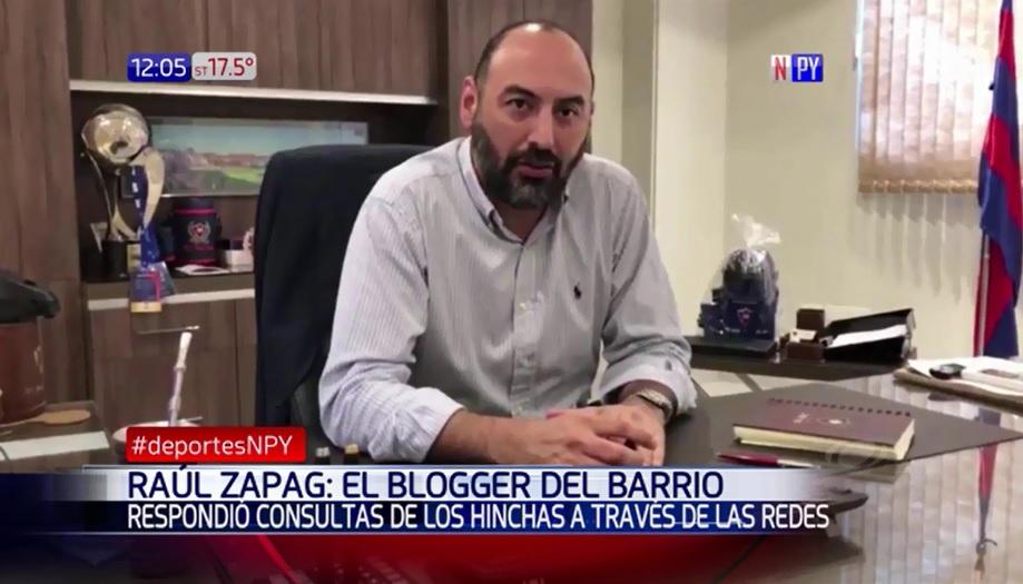 Presidente de Cerro responde a hinchas por redes
