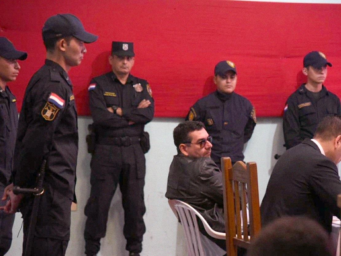 Alcides Oviedo, condenado a 40 años de cárcel