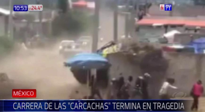 Dos muertos en 'la carrera de las carcachas'