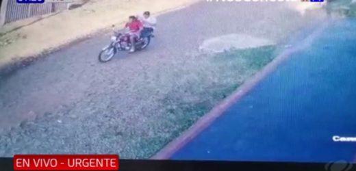 Imperdonable violencia de motochorros