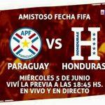 Paraguay vs Honduras irá en vivo por Noticias Paraguay