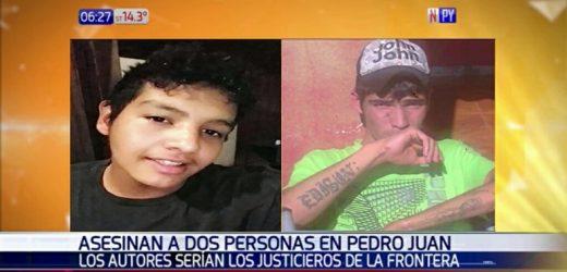 Asesinan a dos personas en Pedro Juan Caballero