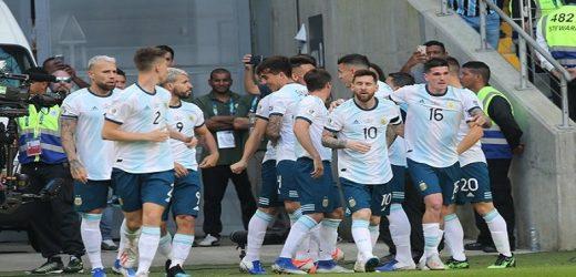 Argentina avanza a semis de la Copa América