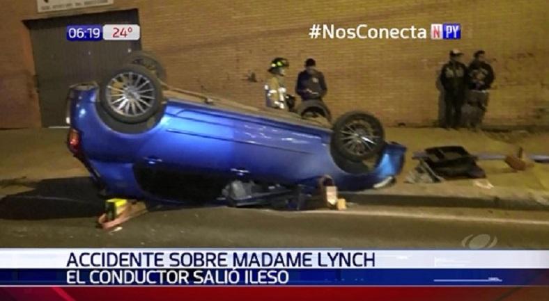 Grave accidente sobre Madame Lynch tras maniobra imprudente
