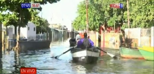 Río bajó 32 centímetros en Asunción