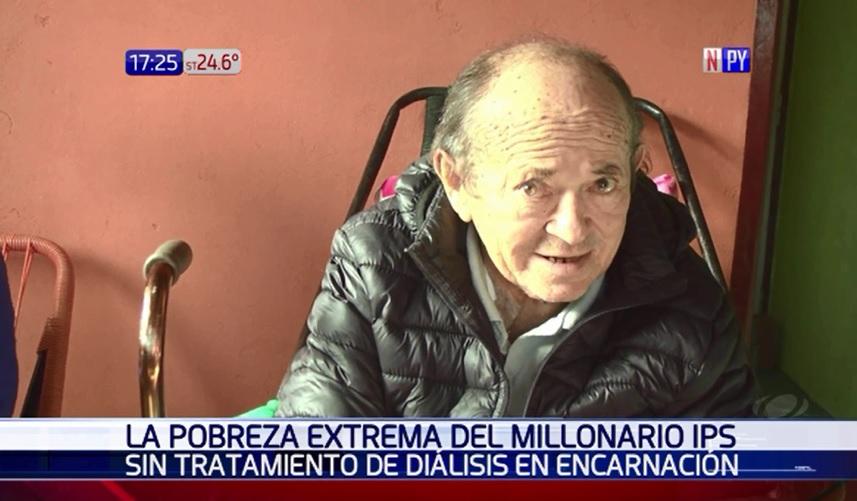 IPS de Encarnación sin tratamiento de diálisis ni medicamentos