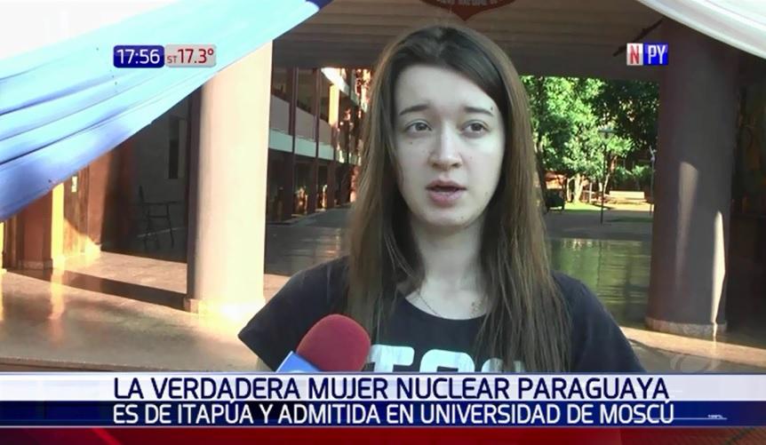 Brillante joven paraguaya estudiará física nuclear en Rusia