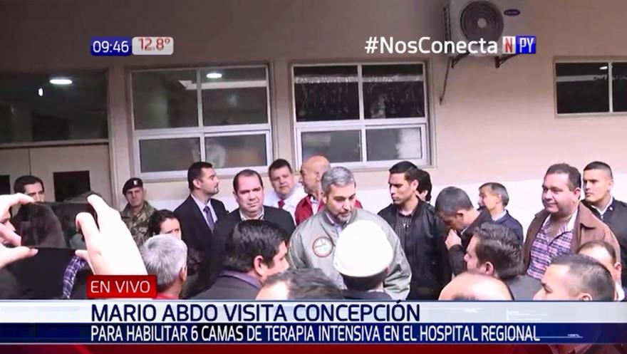 Entregan seis camas de terapia intensiva en Concepción