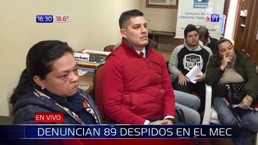 """""""Otra burrada del MEC"""": Denuncian 89 despidos de docentes"""