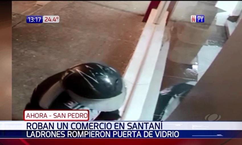 Millonario robo a casa comercial en Santaní