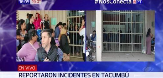 Reportan incidentes en Penal de Tacumbú