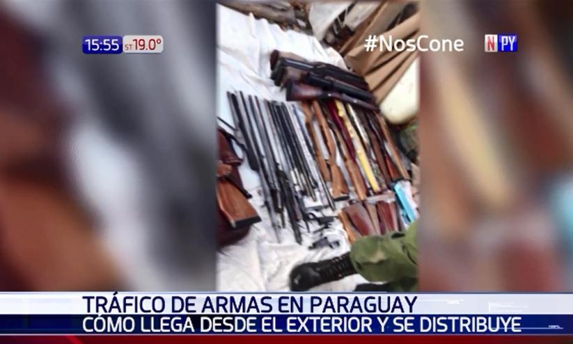 Tráfico de armas: Utilizaban buses paraguayos para llegar a Brasil