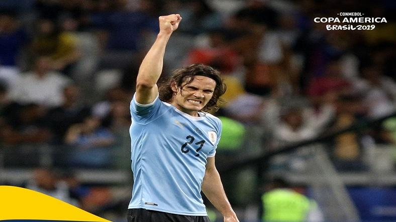 Uruguay ganó y quedó primero en su grupo