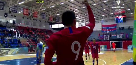 El gol lleno de magia de Cerro en Futsal