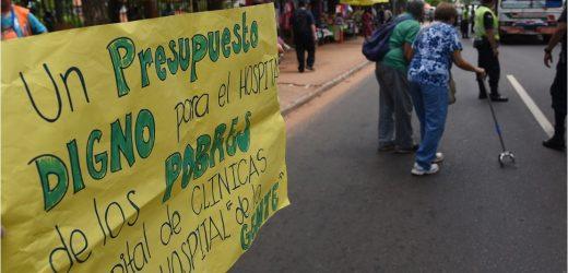 Hospital de Clínicas va a huelga