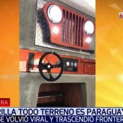La parrilla paraguaya que da vuelta al mundo