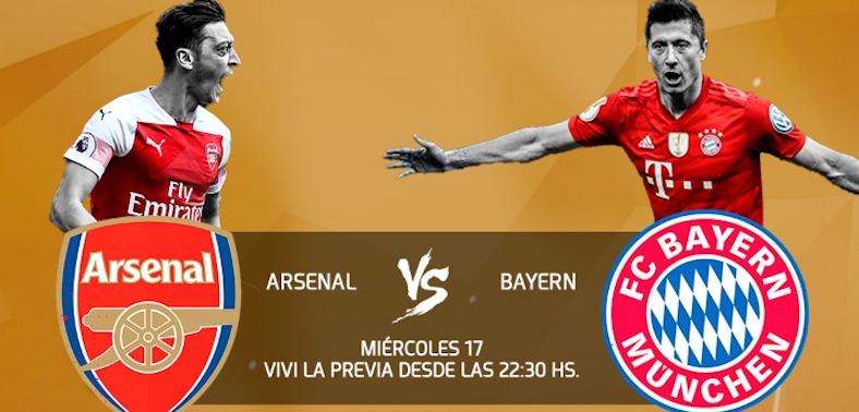 Arsenal vs Bayern, un partido para alquilar balcones