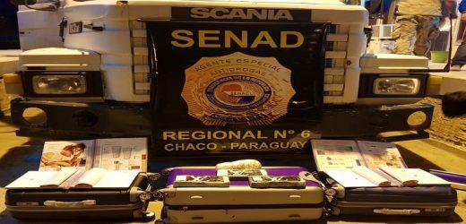 Caen más de 30 kilos de cocaína boliviana