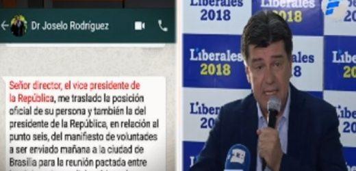 PLRA decide pedir juicio político contra Mario Abdo y Hugo Velázquez
