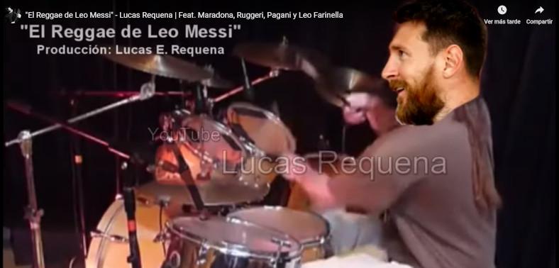 El Reggae de Messi que es furor en redes