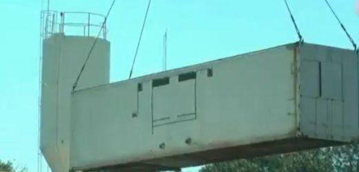 Alojarán a reos en contenedores por falta de espacio en cárcel