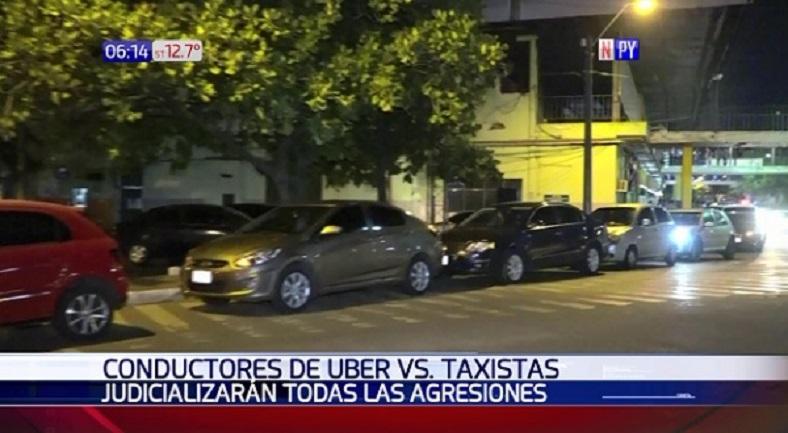 Accionarán judicialmente contra taxistas violentos