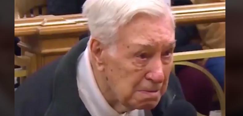 Por esta razón absolvieron a un señor de 96 años que infringió la ley