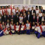 Merecido homenaje a atletas que nos representaron en los panamericanos
