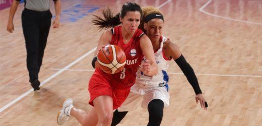 Debut y derrota de la selección femenina de básquet