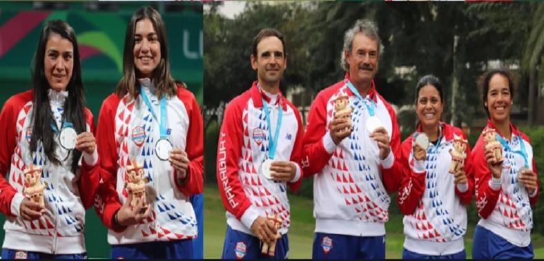 Histórica participación en Lima con 5 medallas cosechadas