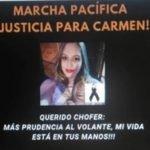 Marcharán exigiendo justicia para Carmen