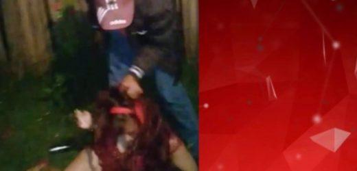 Hombre ataca brutalmente a mujer en Coronel Oviedo