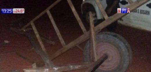 Conductor de camioneta se llevó por delante a carreta y mató a un niño
