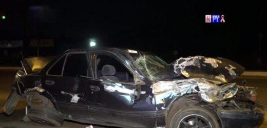 Ebrio al volante ocasiona grave accidente sobre Acceso Sur