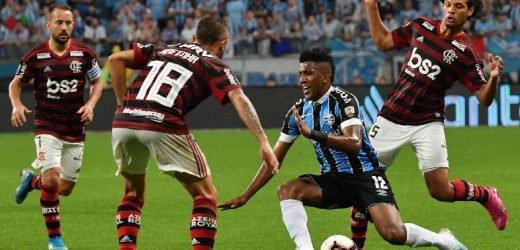 Gremio y Flamengo no se sacan diferencias