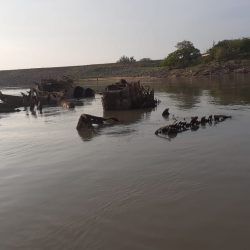 El buzo paraguayo que quiere reflotar buques de guerras