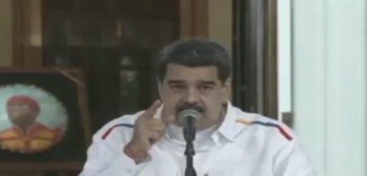 Nicolás Maduro hace un llamado a la fuerza militar de Bolivia