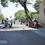 Indígenas protestan ante las amenazas de colonos brasileños