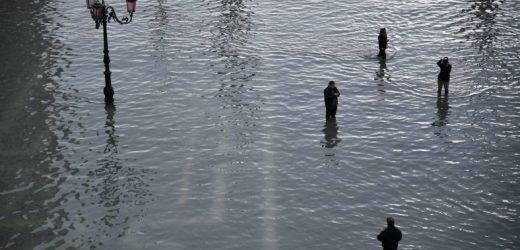Venecia sufre histórica inundación