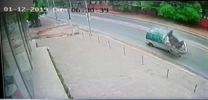 Nuevas imágenes muestran la violencia del choque sobre la Transchaco