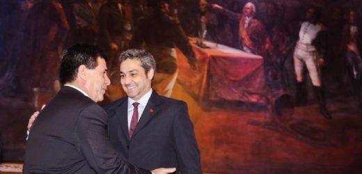 Cartes y Abdo se reunieron en miras a la pacificación en la ANR