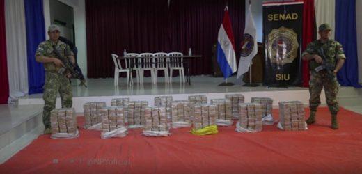 Decomisan más de 400 kilos de cocaína en Concepción