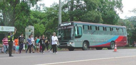 Una semana más sin buses, dispone Dinatran