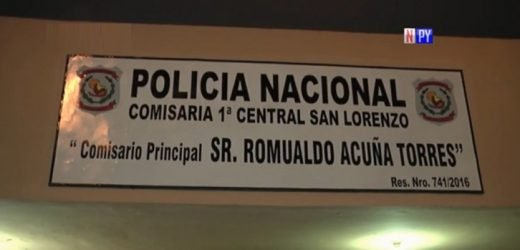 Detienen a hombre tras seguidilla de robos en San Lorenzo