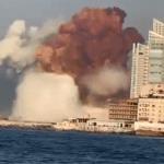 """Explosión en Beirut: """"Un compatriota se salvó por 30 minutos"""""""