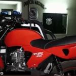 Recuperó su moto gracias a GPS